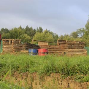 Drewniany fort